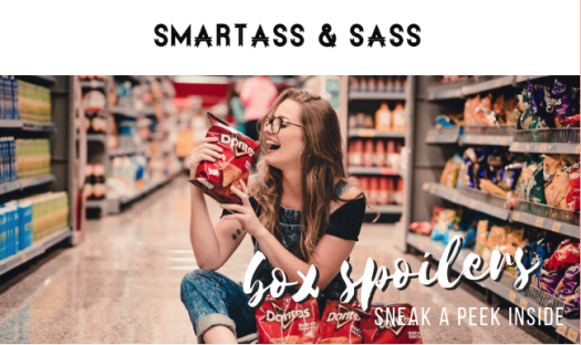 Smartass and Sass August 2019 Spoiler #1