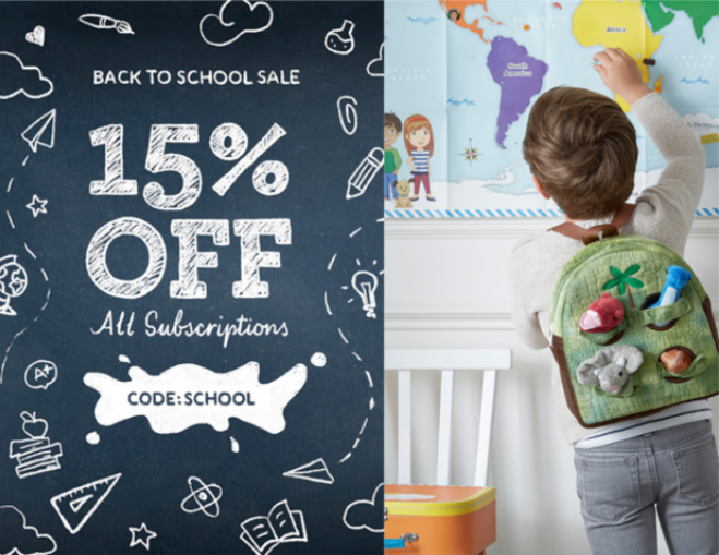 Little Passports Back to School Sale – Save 15%!