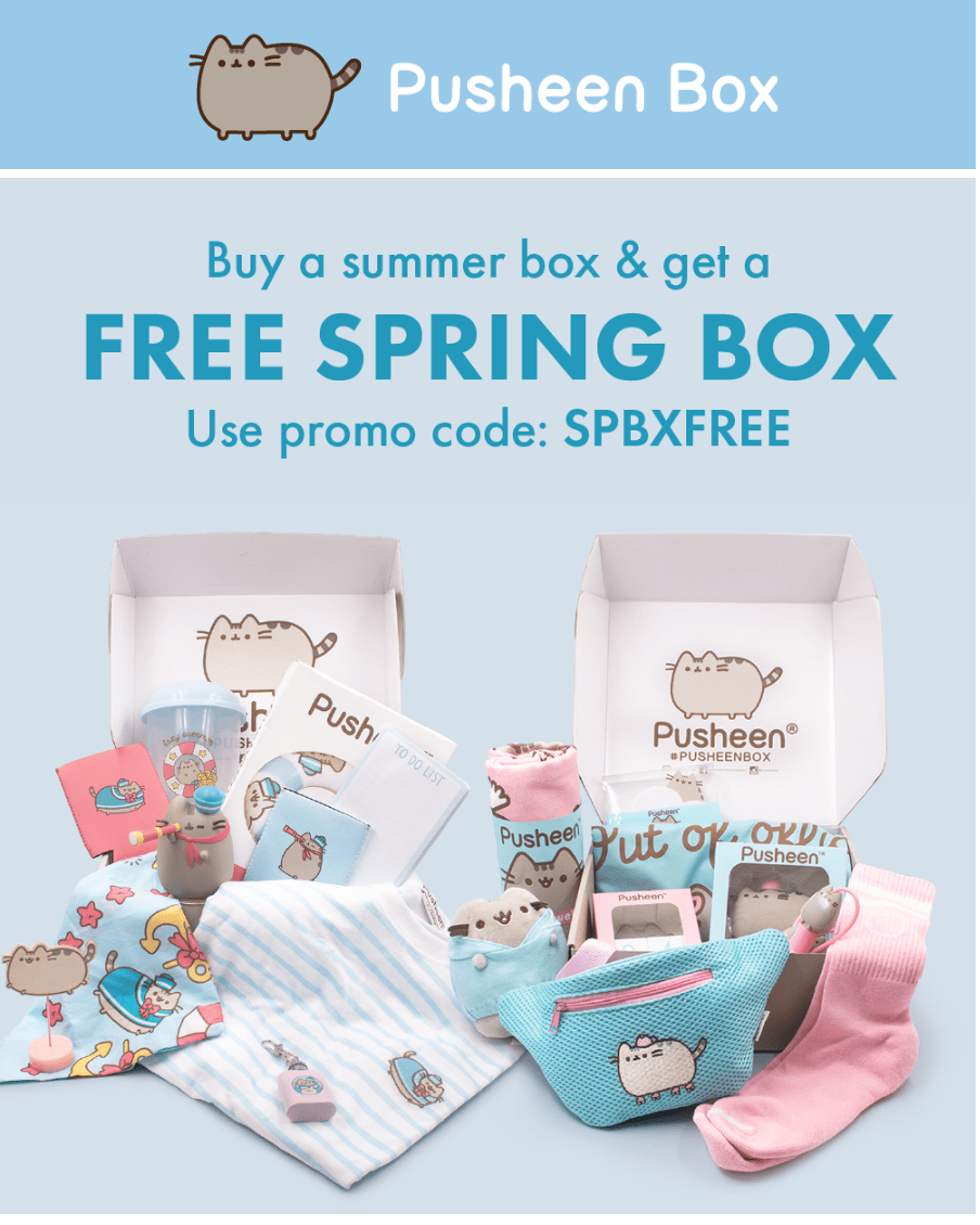 Pusheen Box Coupon – FREE Spring Box With Subscription!