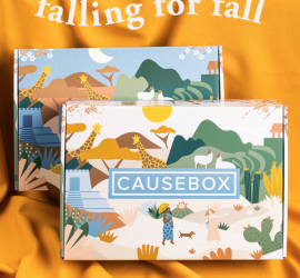 CAUSEBOX Fall 2019 Box On Sale Now + Coupon Code!