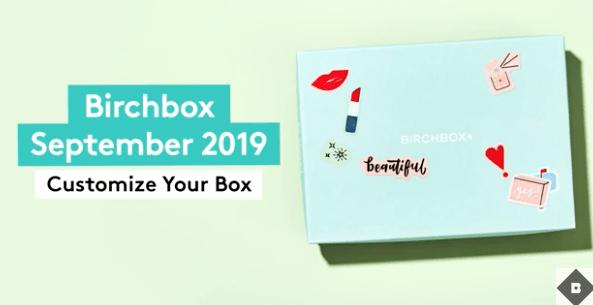 Birchbox September 2019 Sample Selection Time!