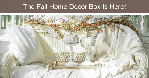 Third & Main Fall 2019 Home Decor Box Spoilers