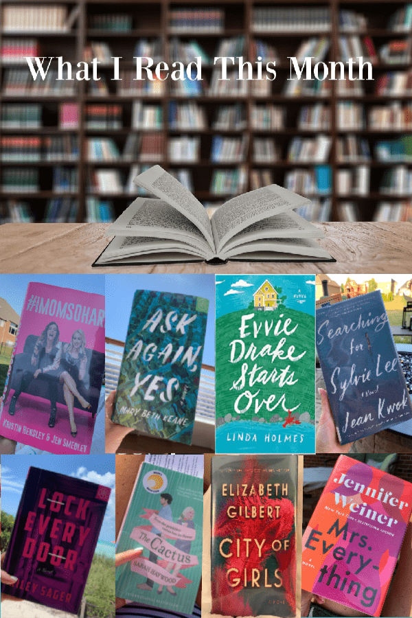 What I Read This Month – July 2019 Edition
