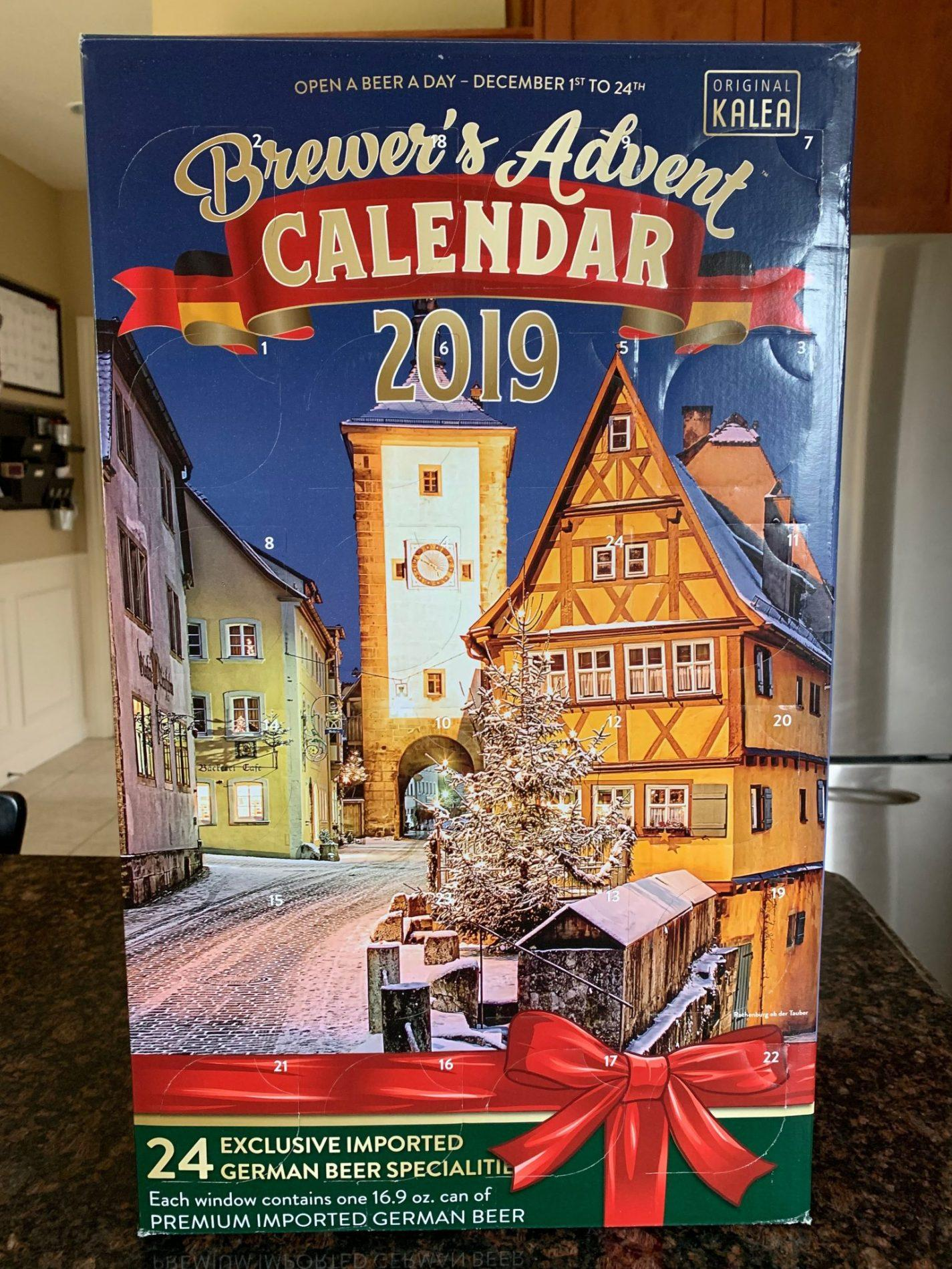 Costco 2019 Brewer S Advent Calendar On Sale Now