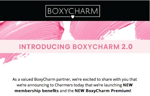BOXYCHARM Subscription Box Updates