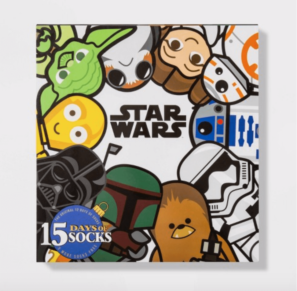 Women's Star Wars 15 Days of Socks Advent Calendar – On Sale Now