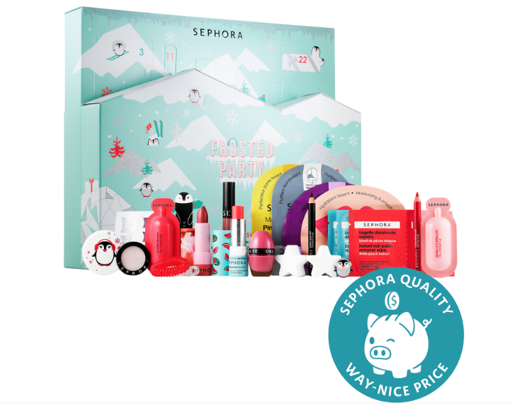 Sephora Frosted Party Advent Calendar On Sale Now Full Spoilers Subscription Box Ramblings