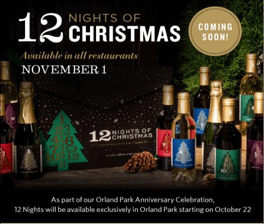 Cooper's Hawk 12 Nights of Christmas Advent Calendar  – Coming 11.1.19