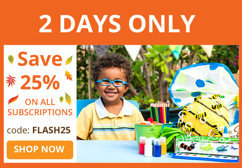 Green Kid Crafts – 25% Off Subscriptions!