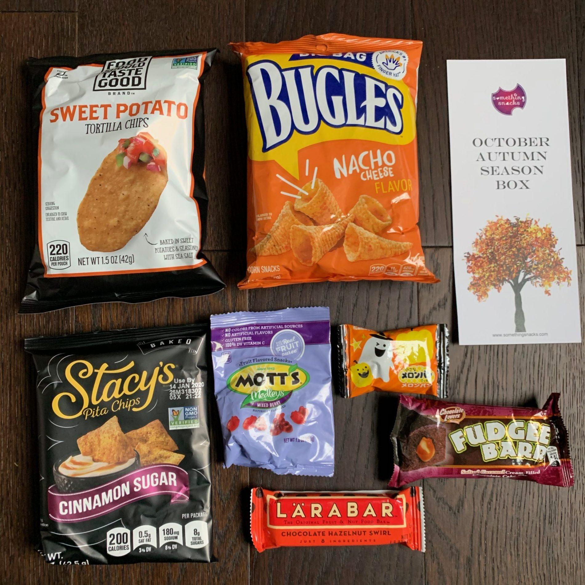 Something Snacks Review – October 2019