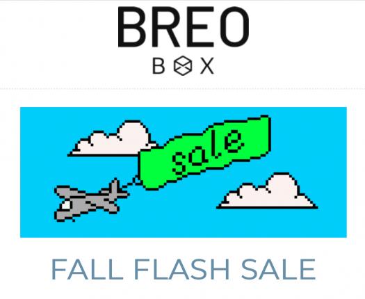 Breo Box Fall 2019 Flash Sale - Save $25!