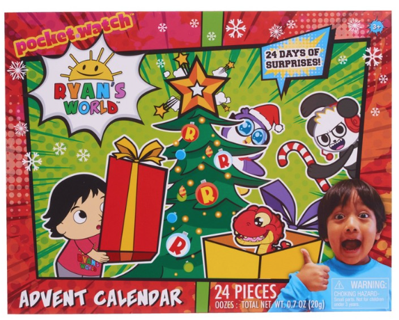Ryan's World Advent Calendar – On Sale Now!