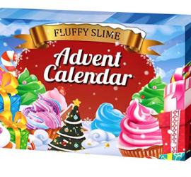 DIY Fluffy Slime Advent Calendar - On Sale Now