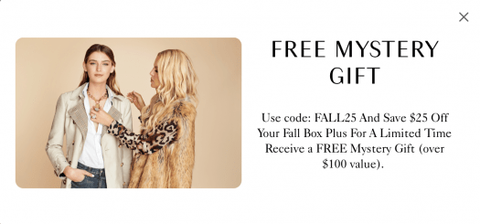 Box of Style by Rachel Zoe Sale – Save $25 + Get a Free Mystery Gift!