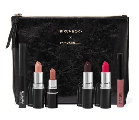 The Birchbox x M·A·C Cosmetics Lip Set + Coupon Code