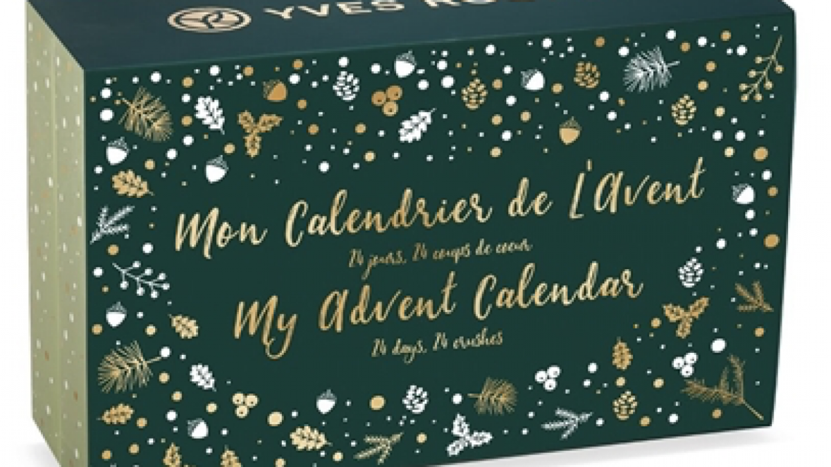 Yves rocher adventskalender 2019