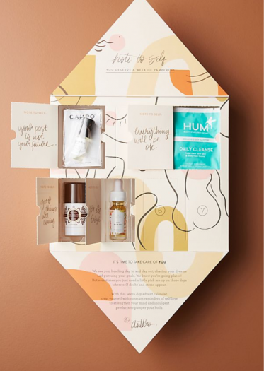 Anthropologie Seven Days of Self-Care Advent Calendar - On Sale Now!