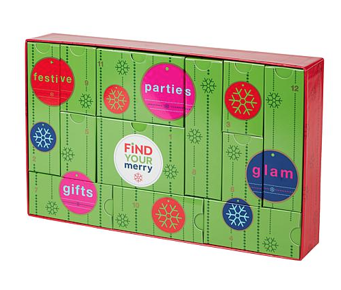 HSN Holiday 12 Days of Beauty Box Advent Calendar – On Sale Now!