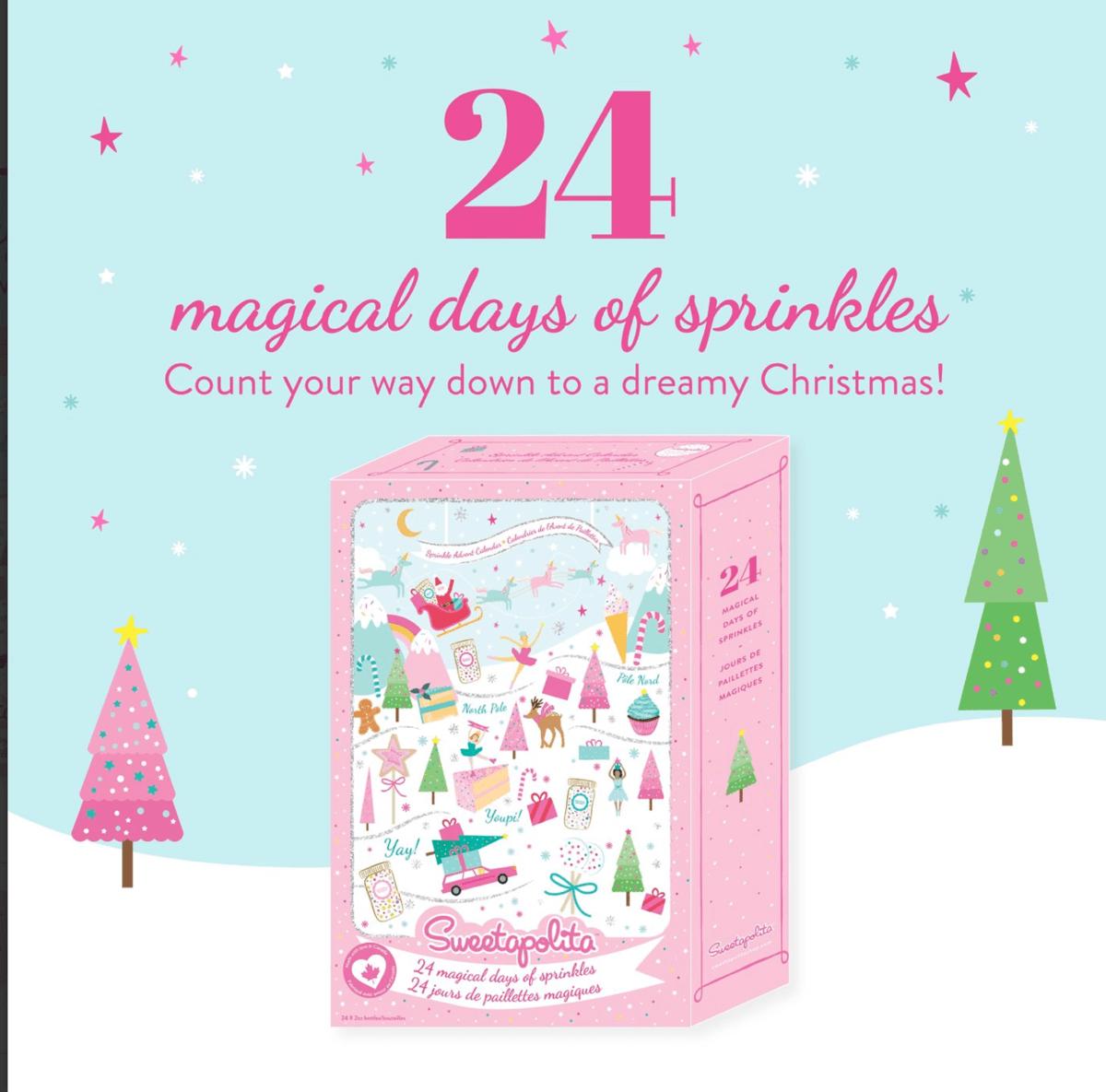 Sweetapolita Advent Calendar – 24 Magical Days of Sprinkles