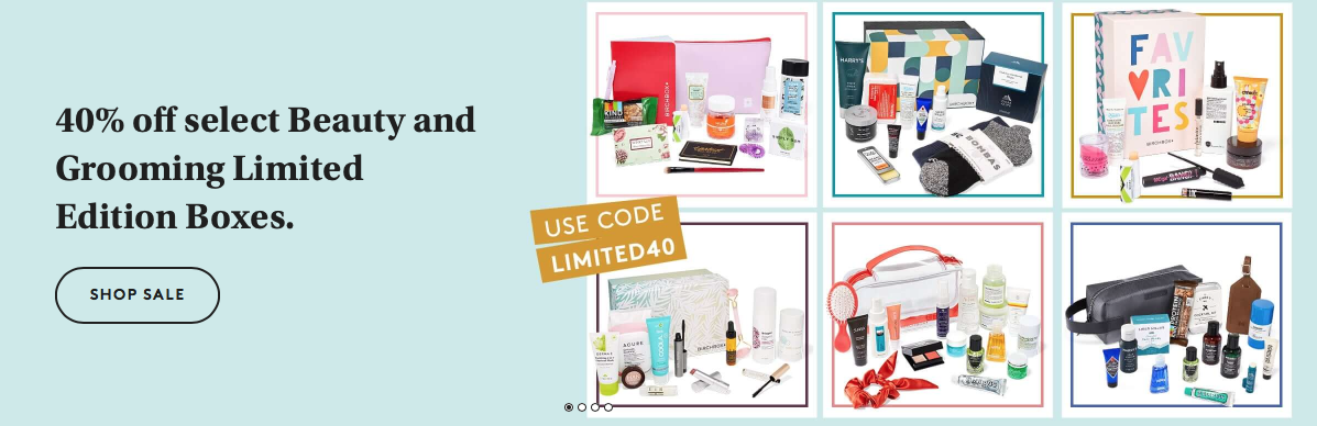 Birchbox Limited Edition Boxes – Save 40% Off!