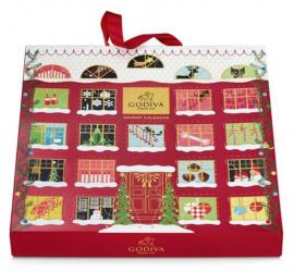 Godiva 2019 Christmas Chocolate Advent Calendar!