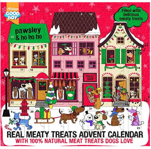 GoodBoy Pawsley Meaty Treats Advent Calendar for Dogs!