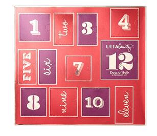 ULTA 12 Days Of Bath Gift Set Advent Calendar  – On Sale Now + Full Spoilers!