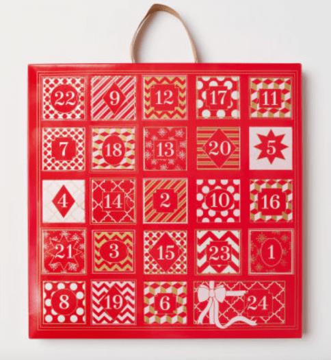 H&M Advent Calendar with Jewelry