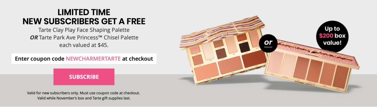 BOXYCHARM Free Gift With Purchase Offer!