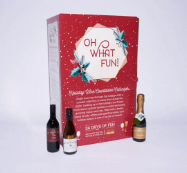 Kroger What Fun! Holiday Wine Countdown Calendar - In Stores 11.1.19