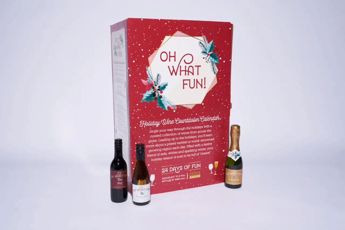 Kroger What Fun! Holiday Wine Countdown Calendar – In Stores 11.1.19