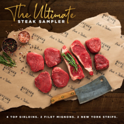 Butcher Box Early Black Friday Sale – Free Ultimate Steak Sampler!