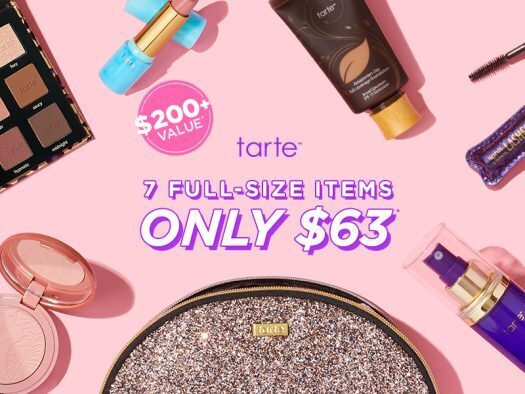 tarte Create Your Own 7-Piece Custom Kit for $63 – On Sale Now!