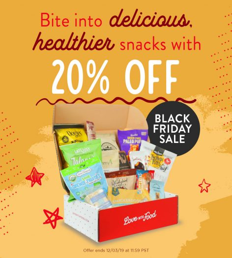Love With Food Cyber Monday Sale – Save 20%!