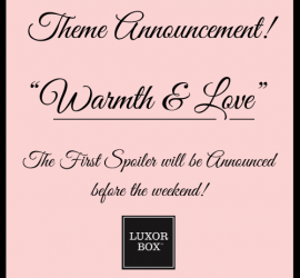 Luxor Box January 2020 Theme Reveal
