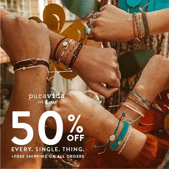 Pura Vida Black Friday Sale – Save 50%!
