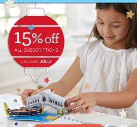 Little Passports Holiday Sale - Save 15%!