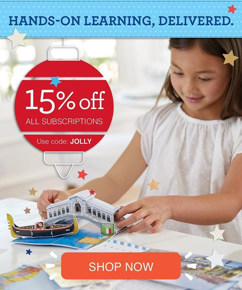 Little Passports Holiday Sale – Save 15%!