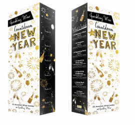 Aldi 2019 Sparkling Wine Countdown to the New Year Advent Calendar - FULL SPOILERS!