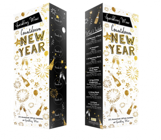 Aldi 2019 Sparkling Wine Countdown to the New Year Advent Calendar – On Sale Tomorrow (12.4.19)