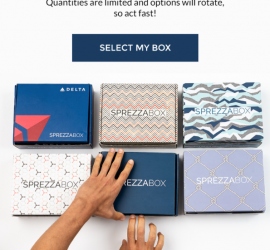 SprezzaBox November 2019 Select Your Box Time!