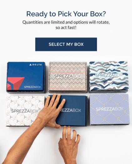 SprezzaBox November 2020 Select Your Box Time!