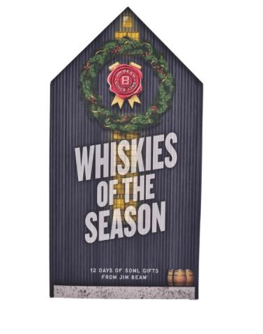 Jim Beam Whiskies of the Season Advent Calendar