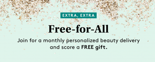Birchbox Coupon Code – Your Choice of Free Gift with New Subscription