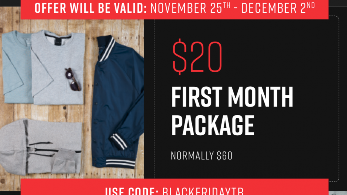 Best Deal Ever Menlo Club Black Friday Coupon Code First Box For 20 Subscription Box Ramblings