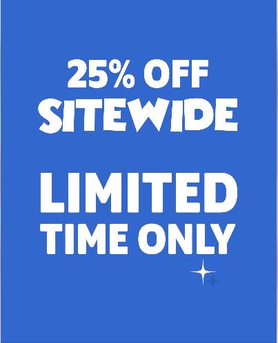 Walt Life Black Friday Sale – Save 25% Off Everything!