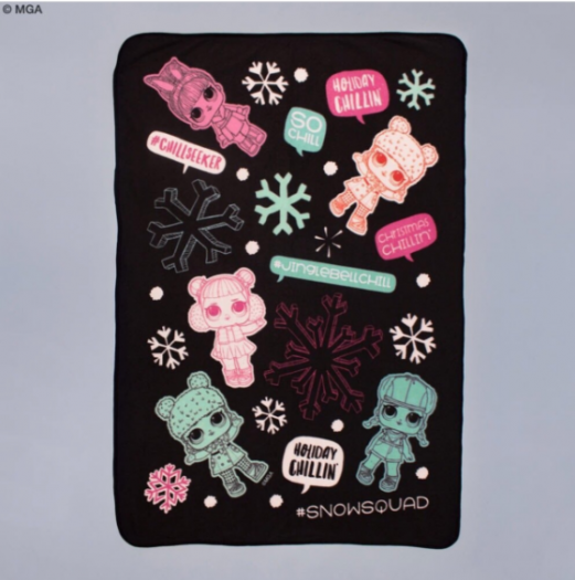 L.O.L Surprise! Blanket in Pouch