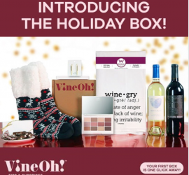 Vine Oh! Box Coupon Code - $12 Off + Free Cozy Blanket