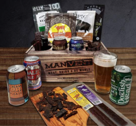 Beer and Jerky ManVent Advent Calendar