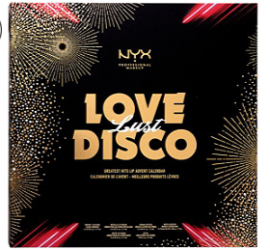 NYX Love Lust Disco Greatest Hits Lip Advent Calendar